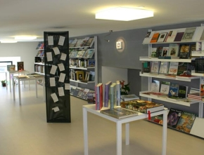 """Progetto Libreria """"Nuova Avventura 1"""", Piazza Garibaldi, Carrara"""
